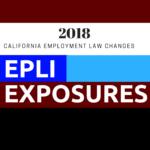 2018 CA Employment Law Changes – EPLI