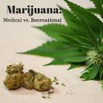 Marijuana: Medical vs. Recreational