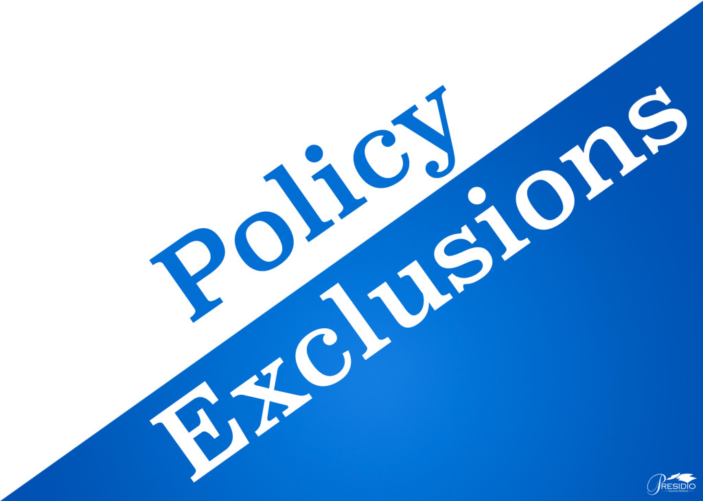 Malpractice Policy Exclusions on Directors And Officers Liability Insurance