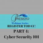 Cyber Security 101 Webinar | Register