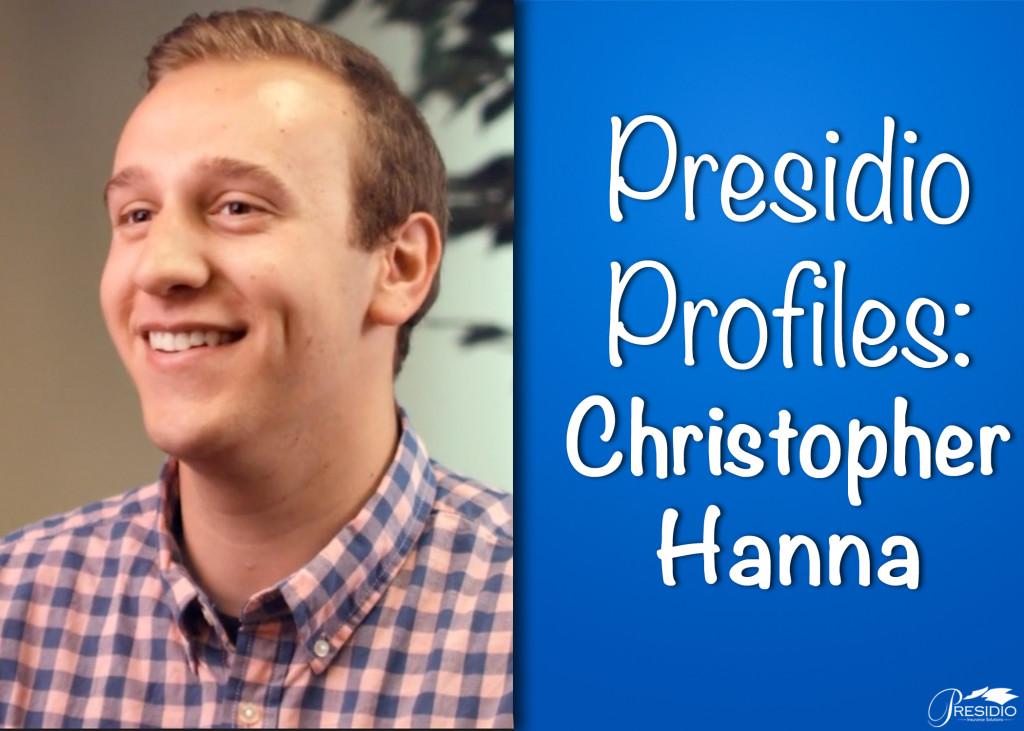 Presidio Profiles Chris