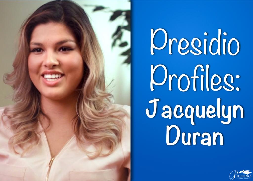 Presidio Profiles Jackie