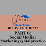 Social Media: Marketing & Malpractice | Register