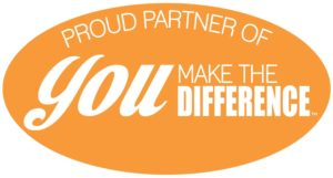 YMTD partner badge orange